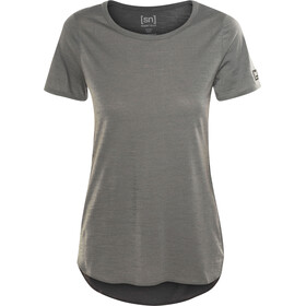super.natural Comfort Japan Tee Women Charcoal